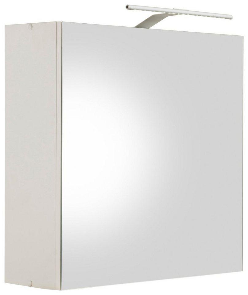 Kesper Spiegelschrank »Tessin« mit Beleuchtung in weiß