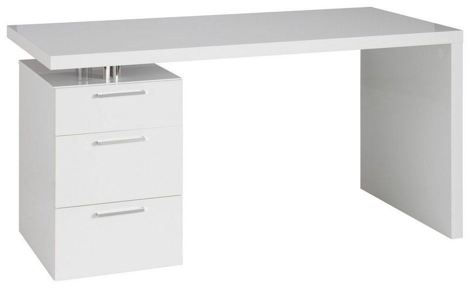 Schreibtisch hmw match mit 3 schubk sten otto for Schreibtisch 70 breit