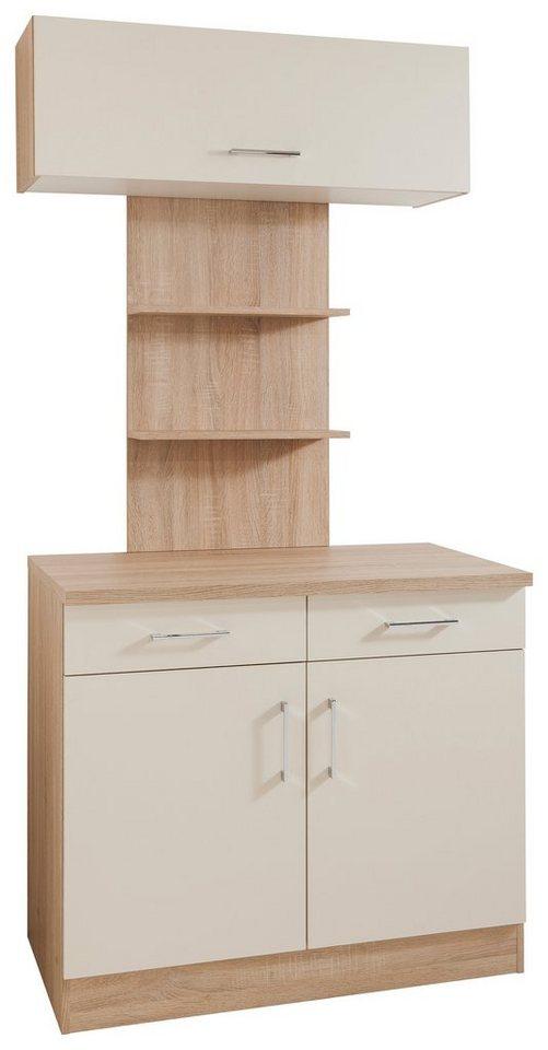 Küchenbuffet, Held Möbel, »Lyon«, Breite 100 cm in Vanille