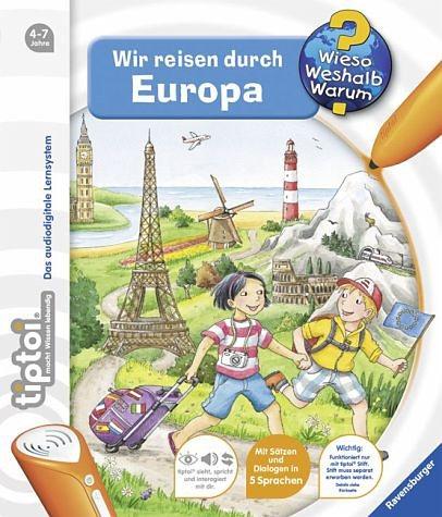 Gebundenes Buch »Wir reisen durch Europa / Wieso? Weshalb?...«