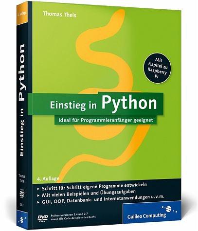Broschiertes Buch »Einstieg in Python«