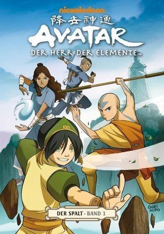Broschiertes Buch »Der Spalt 1 / Avatar - Der Herr der Elemente Bd.8«
