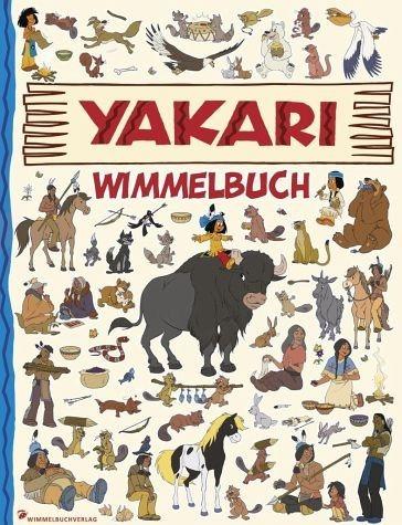 Buch mit Papp-Einband »Yakari Wimmelbuch«