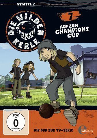 DVD »Die Wilden Kerle 7 - Auf zum Champions Cup«