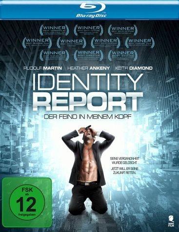 Blu-ray »Identity Report - Der Feind in meinem Kopf«
