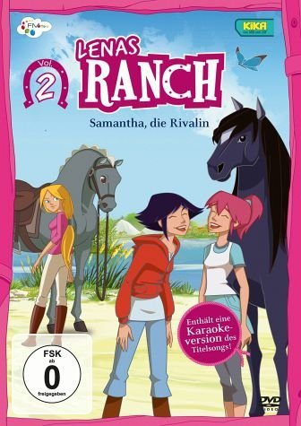 DVD »Lenas Ranch, Vol. 2 - Samantha, die Rivalin«