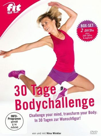 DVD »Fit for Fun - 30 Tage Bodychallenge (2 Discs)«