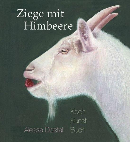 Gebundenes Buch »Ziege mit Himbeere«