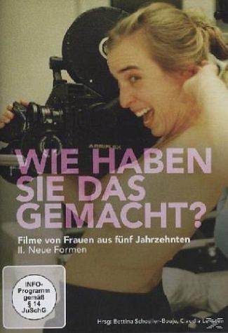 DVD »Wie haben Sie das gemacht? Filme von Frauen...«