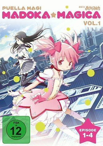 DVD »Madoka Magica, Episode 01-04«