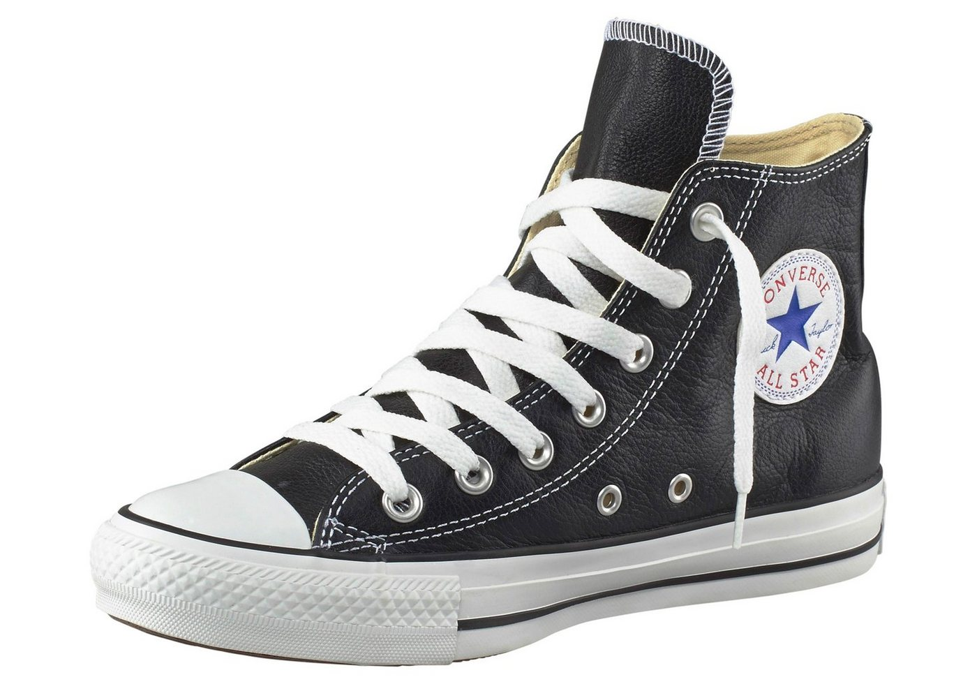 Converse Sneaker 132170C ALL STAR HI LEATHER CO SNEAKERS Herren BLACK jetztbilligerkaufen