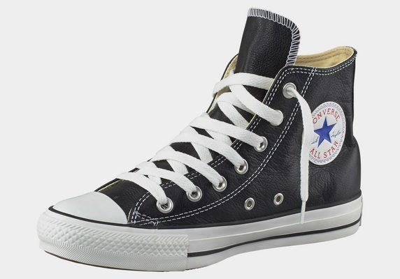 »Chuck Taylor All Star Basic Leather Hi« Sneaker