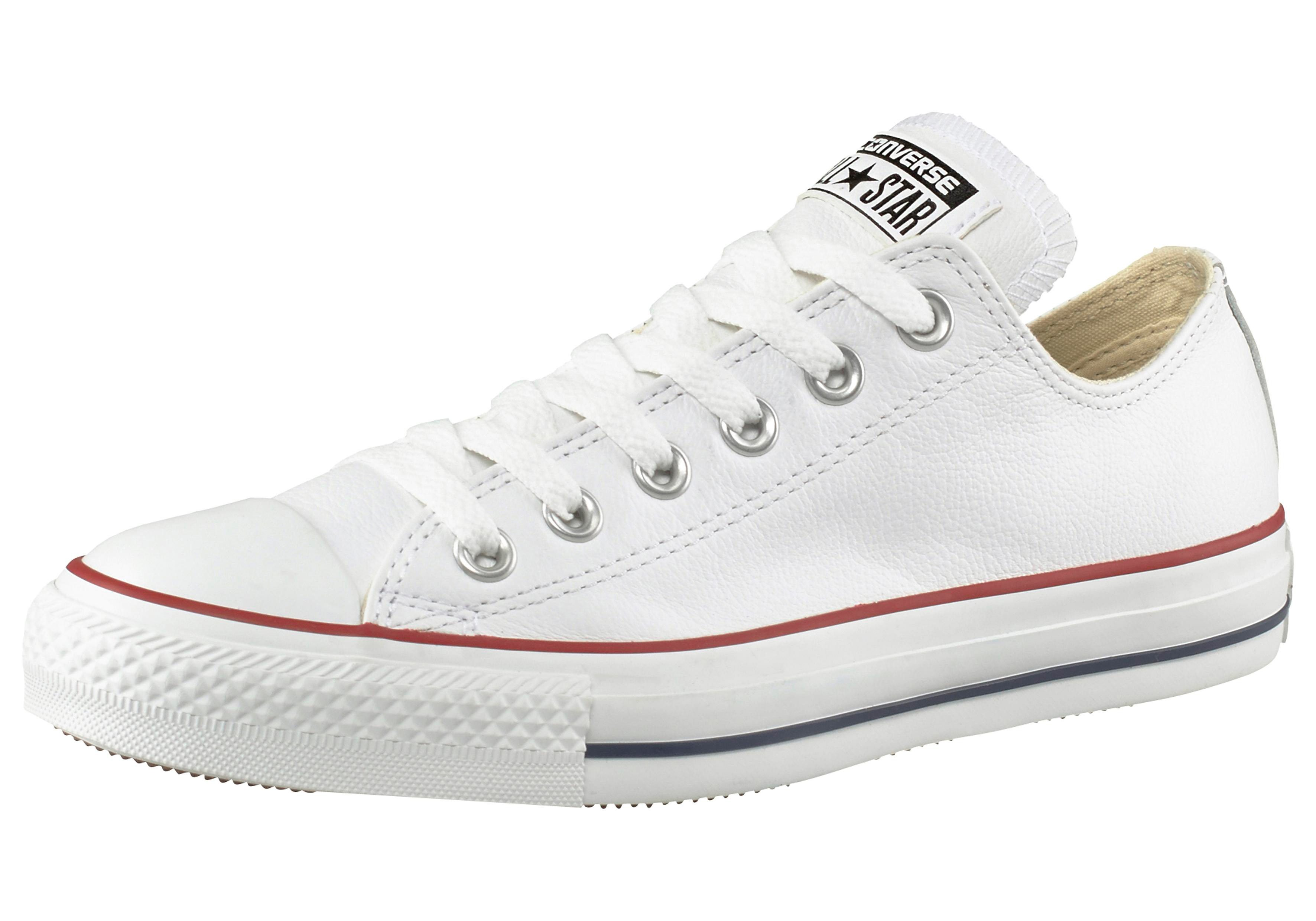 Converse Chuck Taylor All Star Basic Leather Ox Sneaker online kaufen  weiß