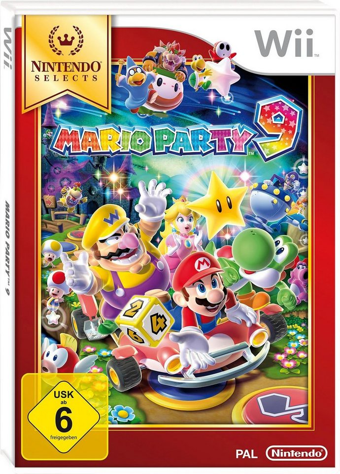 Mario Party 9 Nintendo Selects Wii