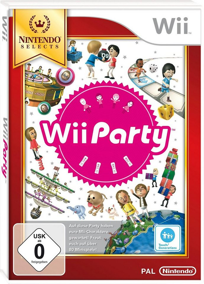 Wii Party Nintendo Selects Wii