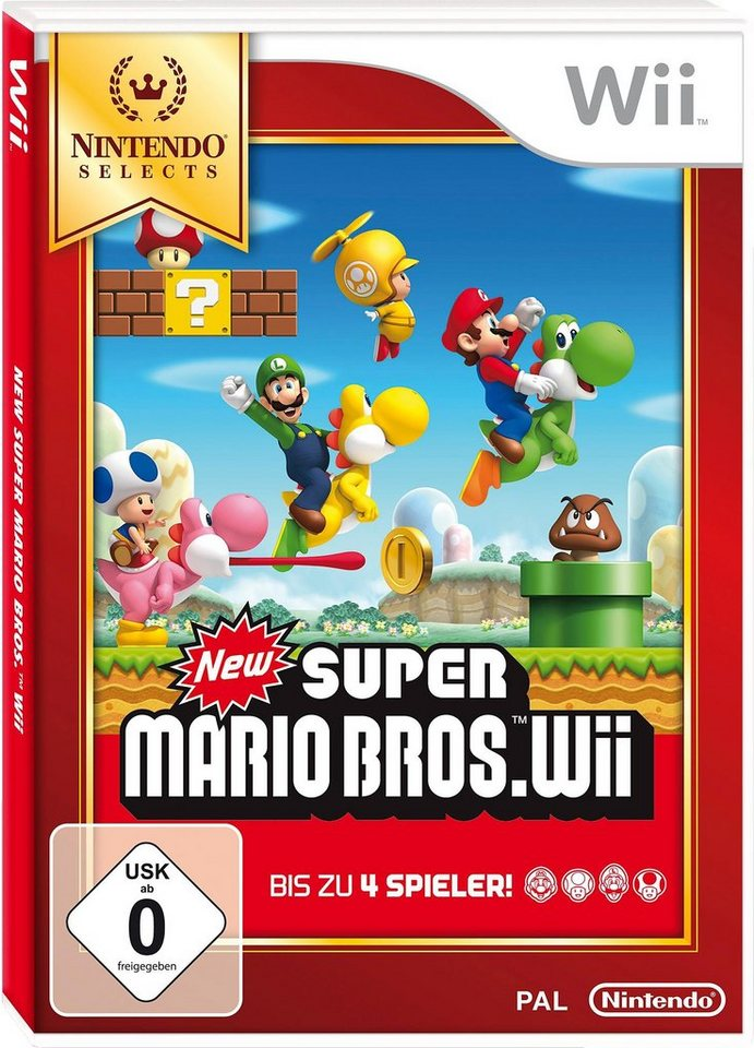 New Super Mario Bros. Wii Nintendo Selects Wii