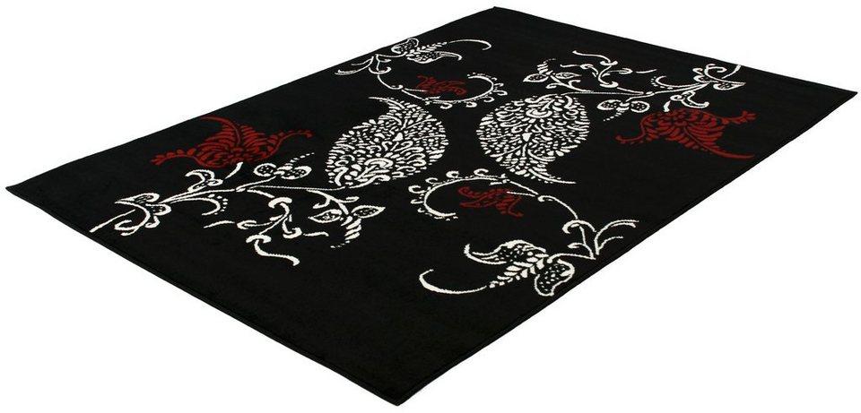 Teppich, Trend Teppiche, »ELEMENTS-501250« in black