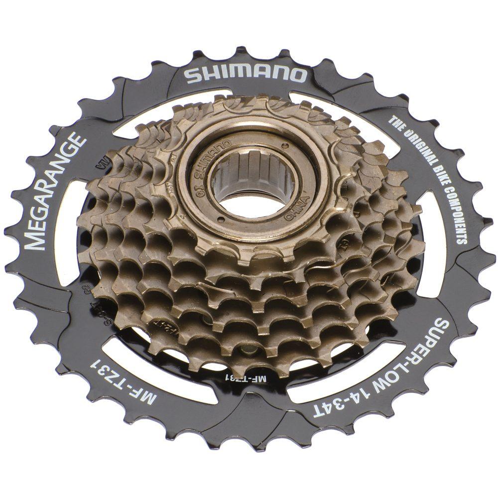 Shimano Fahrradkasetten »Tourney MF-TZ31 Kassette 7-fach 14-34 Zähne«