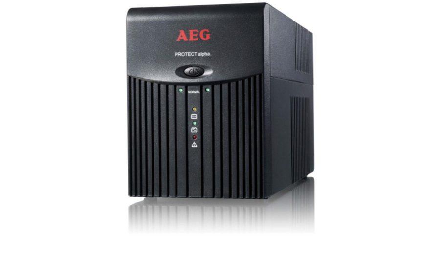 AEG USV »SoHo USV Protect alpha. 1200VA / 600W, schwarz«