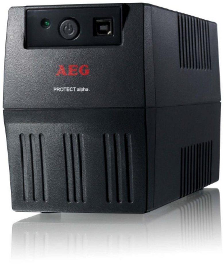 AEG USV »SoHo USV Protect alpha. 450VA / 240W, schwarz« in Schwarz