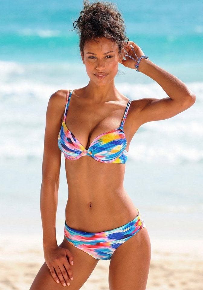 """Bikini-Hose """"Bali"""", sunseeker in weiß bedruckt"""