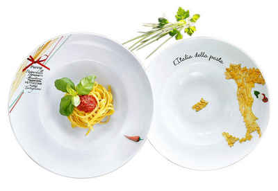 Retsch Arzberg Pastateller »Italia«, (6 Stück), Porzellan