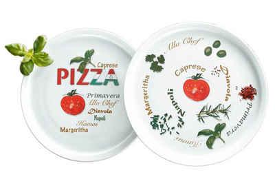 Retsch Arzberg Pizzateller »Italia«, (6 Stück), Porzellan