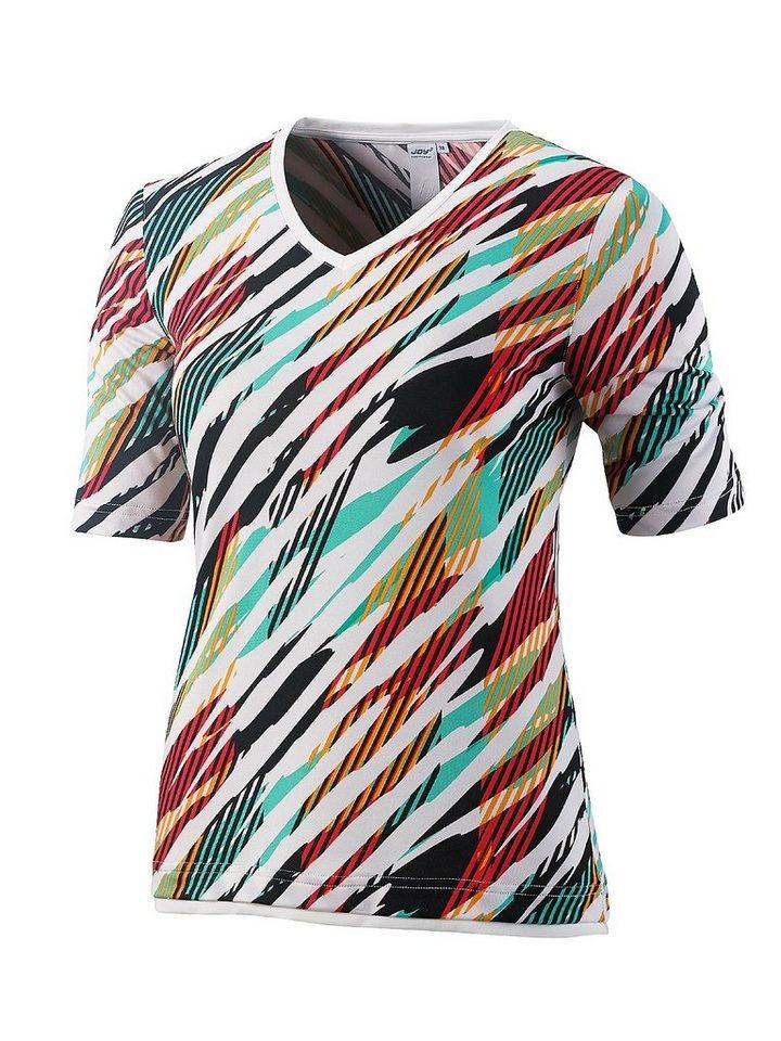 JOY sportswear T-Shirt »ALMA« in seagreen print