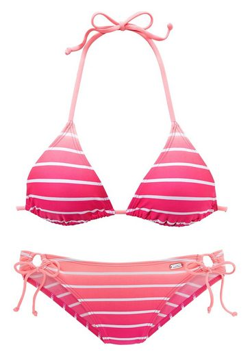 Venice Beach Triangel-Bikini in Neonfarben