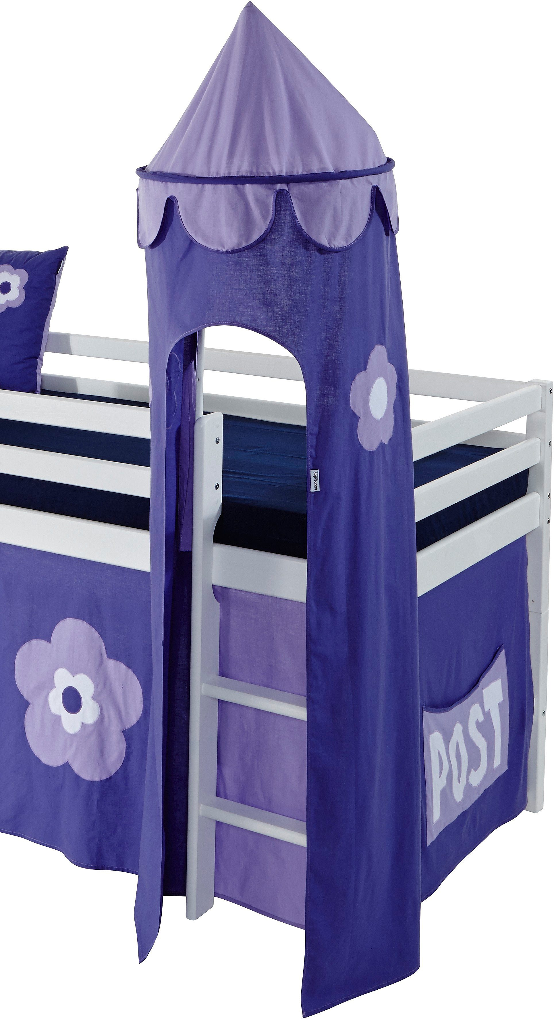 Hoppekids Turm »Purple Flower«