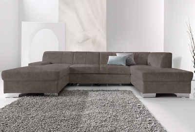 wohnlandschaft braun weis, wohnlandschaft online kaufen » sofa in u-form | otto, Design ideen