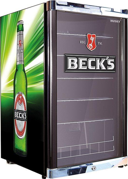 Husky Kühlschrank HighCube Beck´s, A+, 83,5 cm in grün