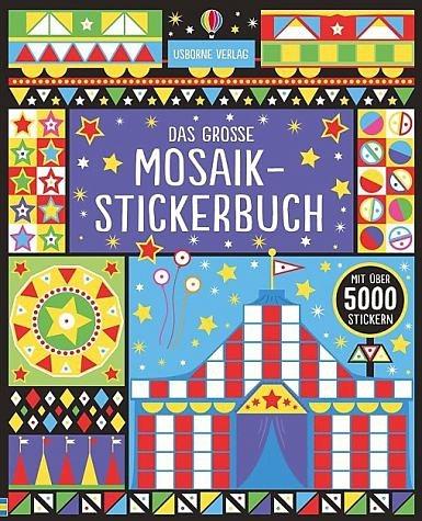 Broschiertes Buch »Das große Mosaik-Stickerbuch«