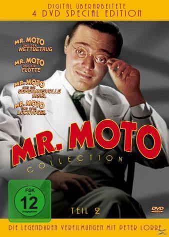 DVD »Mr. Moto Collection - Teil 2 (4 Discs)«