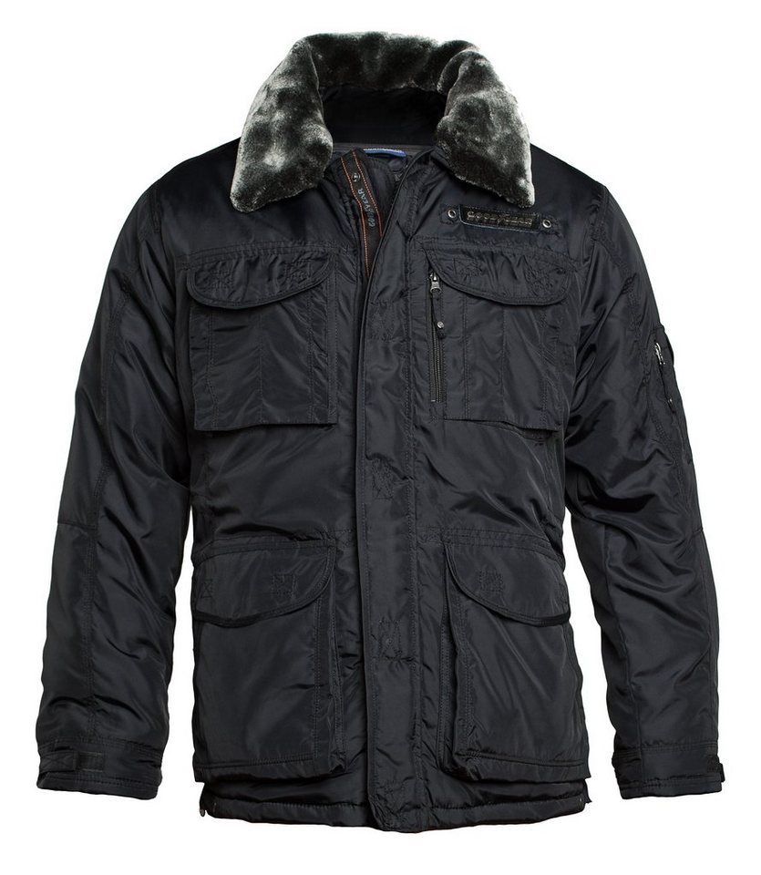 Goodyear Winterjacke in Black