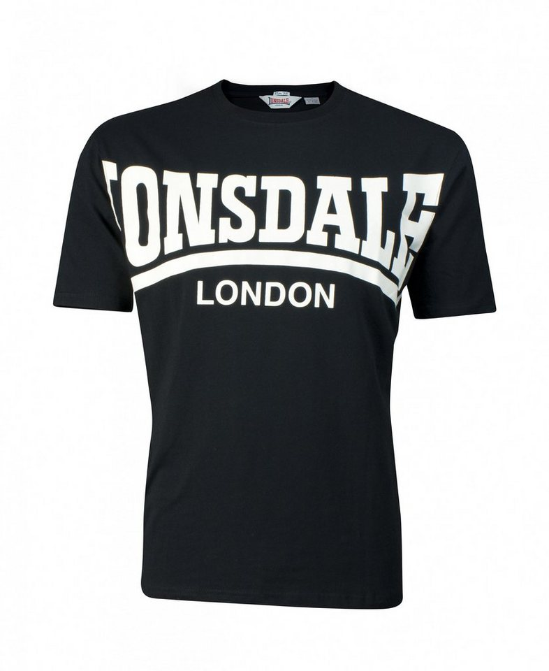 Lonsdale T-Shirt in Black