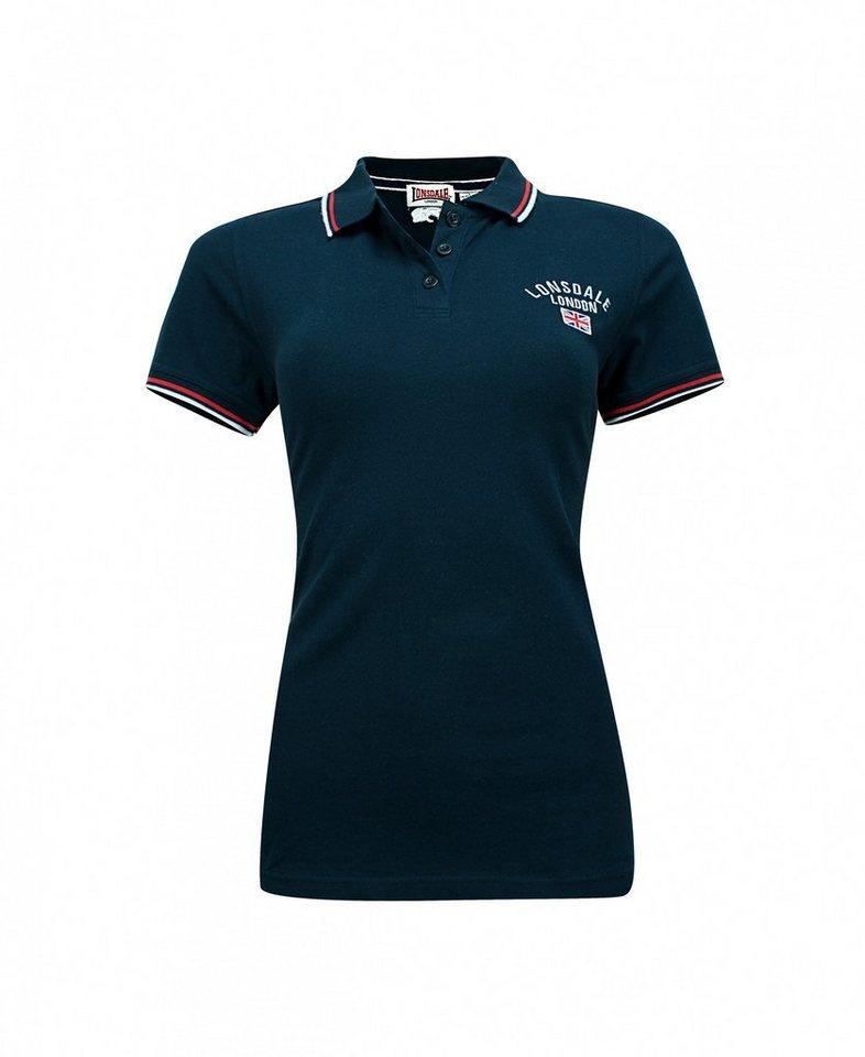 Lonsdale Poloshirt in dunkelblau