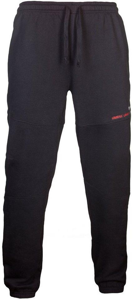 Lonsdale Jogginghose in Black