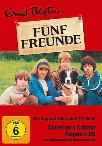 DVD »Enid Blyton - Fünf Freunde, Folgen 01-26...«