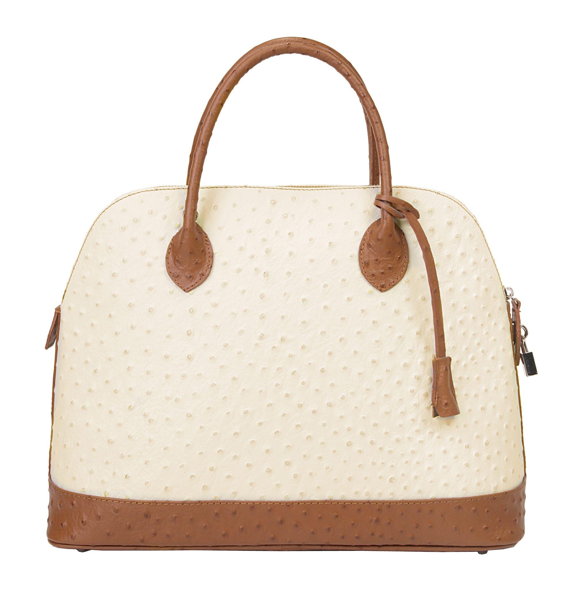 Samantha Look Leder Damen Handtasche