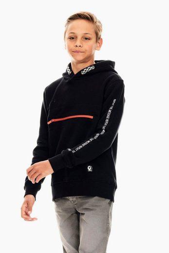 Garcia Sweater mit Vorderfach
