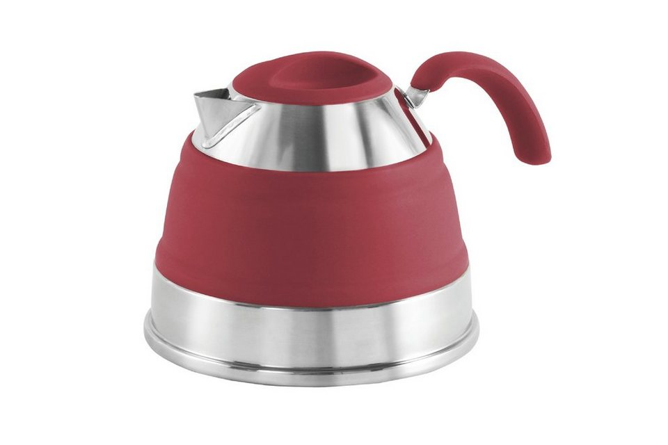 Outwell Camping-Geschirr »Collaps Kettle 1500ml« in rot