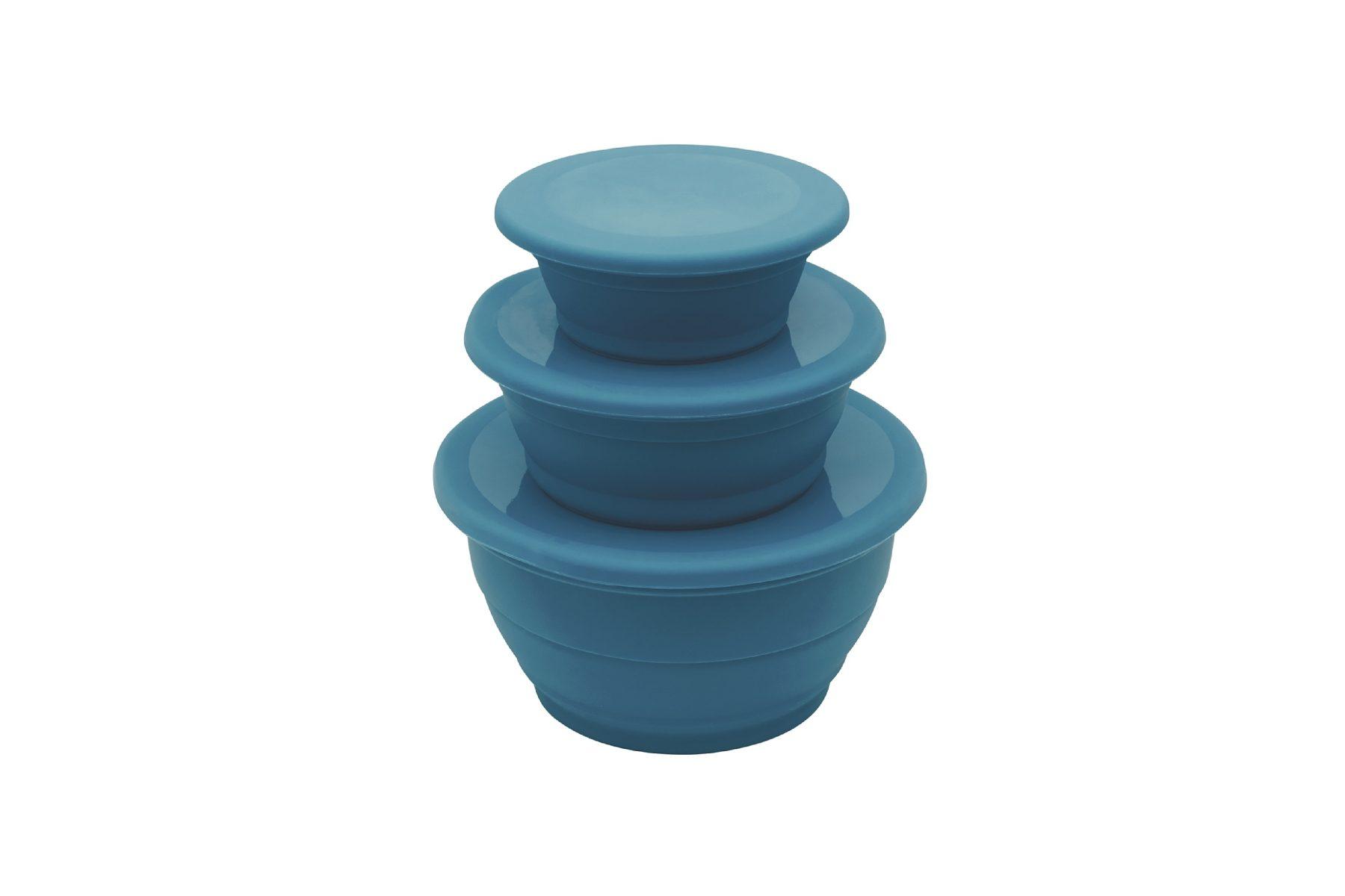 Outwell Camping-Geschirr »Collaps Bowl Set blue«