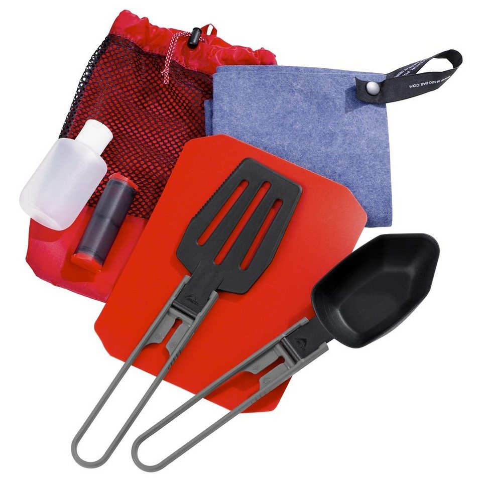 MSR Camping-Geschirr »Ultralight Kitchen Set« in rot