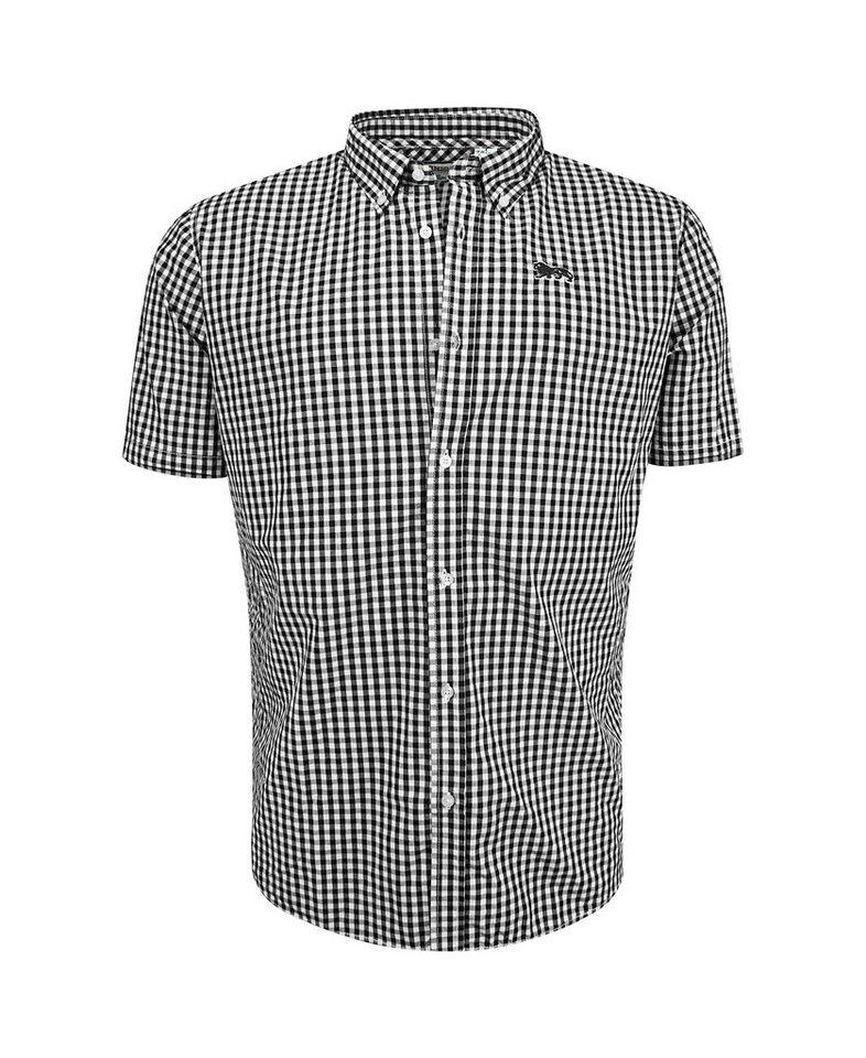 Lonsdale Hemden in Black/White