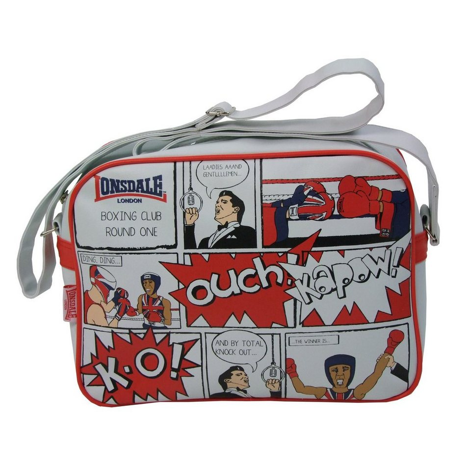 Lonsdale Tasche »COMIC« in Off White