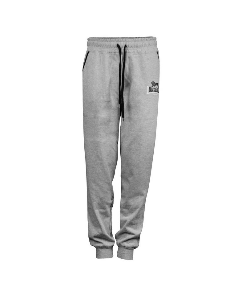 Lonsdale Jogginghose »LION TWO TONES« in Marl Grey