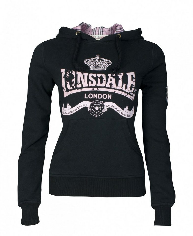 Lonsdale Sweatshirt »AMBER« in Black