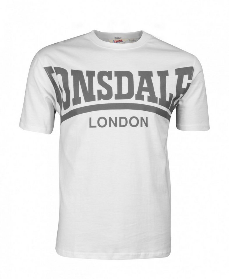 Lonsdale T-Shirt YORK »YORK« in White