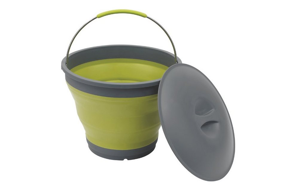 Outwell Wasserkanister »Collaps Bucket with Lid« in grün